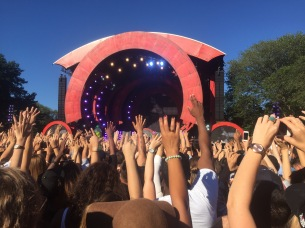 Global Citizens Festival, Rise Up! Central Park, NY. 2016