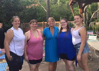 Mom and Her Girls, Aug. 2015.