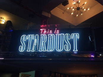 Sign inside of Ellen's Stardust Diner