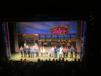 The cast of Waitress