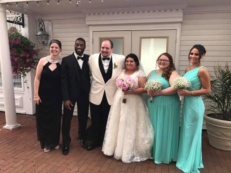(left to right) Vicky, Sam, Tim, Amanda, Myself, Kaylin