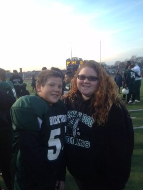 Me and Heinrich after an away game in 2013