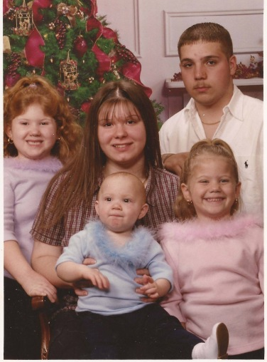 Me, Joanne, Rick, Cait, and Bri in 2001