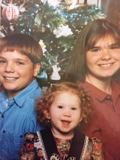 Rick, Joanne, and Me, probably in 1996