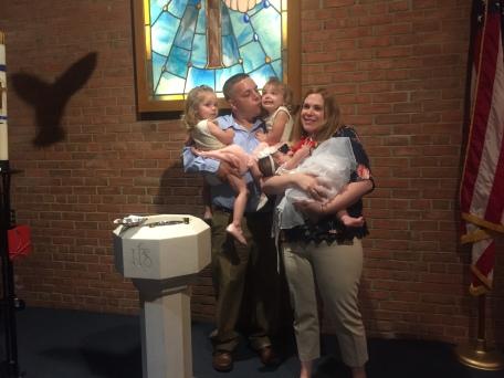 Riley's Christening